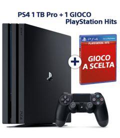 PS4 PRO + 1 TITOLO HITS SONY