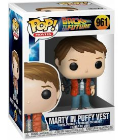 Funko Pop! Back To The Future - Marty In Puffy Vest (9 cm)