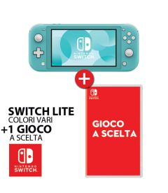 Nintendo Switch Lite + Un Gioco a Scelta Bundle