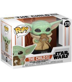 FUNKO POP! STAR WARS THE MANDALORIAN-THE CHILD WITH FROG(9CM