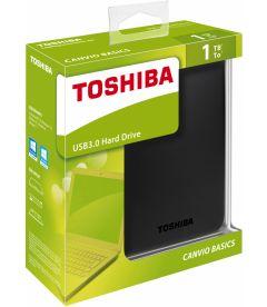 TOSHIBA - CANVIO BASICS USB 3.0 HARD DRIVE (1TB, PS4, XB1)
