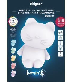 LUMIN'US SPEAKER BLUETOOTH (CAT)