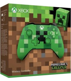CONTROLLER XBOX ONE WIRELESS (MINECRAFT CREEPER)