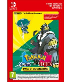POKEMON SPADA E POKEMON SCUDO- PASS DI ESPANSIONE