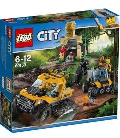 LEGO CITY - MISSIONE NELLA GIUNGLA CON IL SEMICINGOLATO