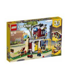 LEGO CREATOR - SKATE HOUSE MODULARE