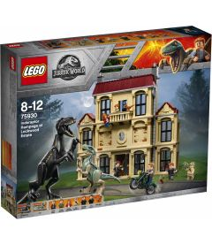 LEGO JURASSIC WORLD - ATTACCO DELL'INDORAPTOR AL LOCKWOOD ES