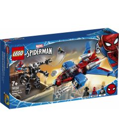 LEGO SPIDERMAN - SPIDERJET VS. MECH VENOM