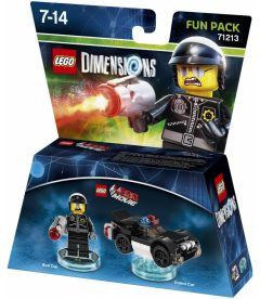 LEGO DIMENSIONS THE LEGO MOVIE - BAD COP (FUN PACK)