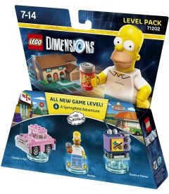 LEGO DIMENSIONS THE SIMPSONS - HOMER (LEVEL PACK)