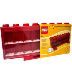 LEGO MINIFIGURE DISPLAY CASE ROSSO (LARGE)
