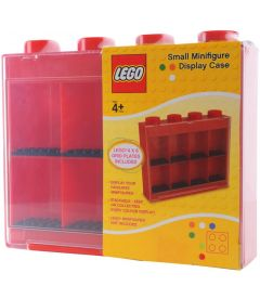 LEGO MINIFIGURE DISPLAY CASE ROSSO (SMALL)