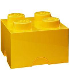 LEGO STORAGE BRICK 4 GIALLO
