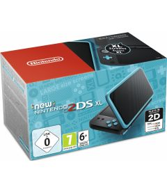 NEW NINTENDO 2DS XL NERO E TURCHESE