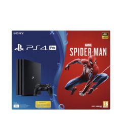 PS4 1TB PRO + MARVEL'S SPIDER -MAN (B CHASSIS)