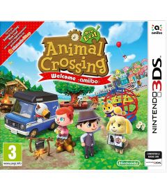 ANIMAL CROSSING NEW LEAF + WELCOME AMIIBO CARD