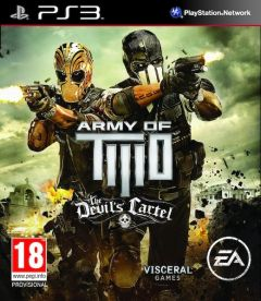 ARMY OF TWO THE DEVIL'S CARTEL LIMITED EDITION