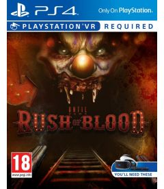 UNTIL DAWN RUSH OF BLOOD (VR RICHIESTO)