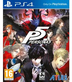 PERSONA 5 (LIMITED STEELBOOK DAY ONE EDITION)