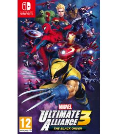 MARVEL ULTIMATE ALLIANCE 3 THEBLACK ORDER