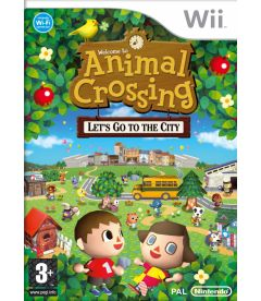 ANIMAL CROSSING LET'S GO TO THE CITY