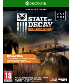 STATE OF DECAY DAY ONE EDITION