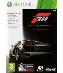 FORZA MOTORSPORT 3 ULTIMATE COLLECTION
