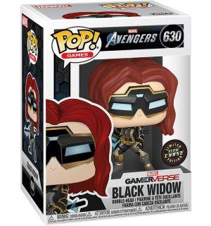 Funko Pop! Avengers Game - Black Widow (Glow Chase Edition, 9 cm)
