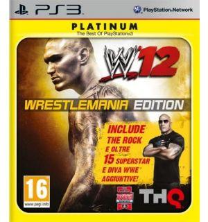 WWE 12 Wrestlemania Edition (Platinum)
