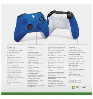 CONTROLLER XBOX WIRELESS - SHOCK BLUE (SERIES X/S, ONE)