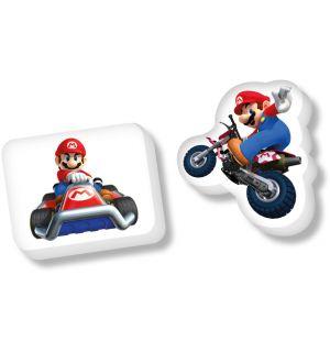 Mario Kart - Gomma Sagomata (Soggetti Vari)