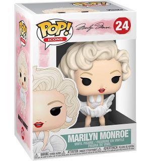 Funko Pop! Pop Icons - Marilyn Monroe White Dress (9 cm)