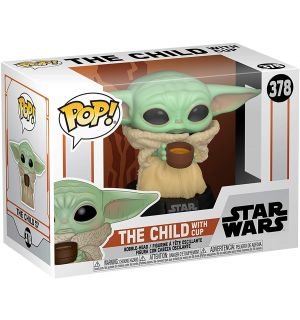 Funko Pop! Star Wars The Mandalorian - The Child With Cup (9 cm)