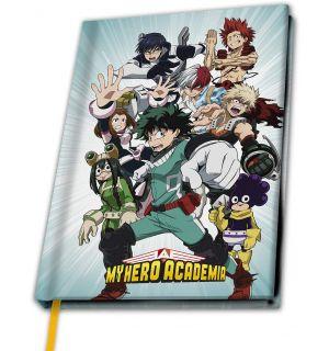 MY HERO ACADEMIA - HEROES (NOTEBOOK, A5)