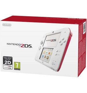 Nintendo 2DS (Bianco E Rosso)