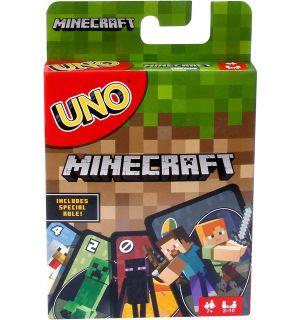 CARTE UNO - MINECRAFT (EN)