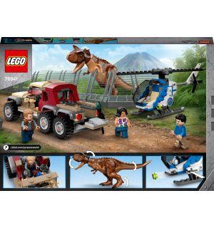 Lego Jurassic World - L'Inseguimento Del Dinosauro Carnotaurus