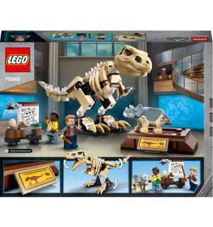 Lego Jurassic World - La Mostra Del Fossile Di Dinosauro T. Rex