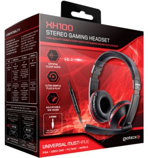 CUFFIE GAMING STEREO XH-100 (PS4, XB1, PC, MAC, MOBILE)