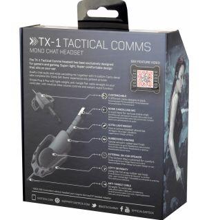 AURICOLARE TX-1 TACTICAL COMMS(PS4, XB1)