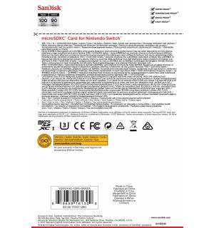 SANDISK - MICRO SDXC CARD (MARIO KART, 128 GB)