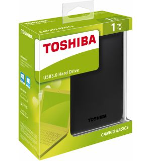 TOSHIBA - CANVIO BASICS USB 3.0 HARD DISK (1TB, PS4, XB1)