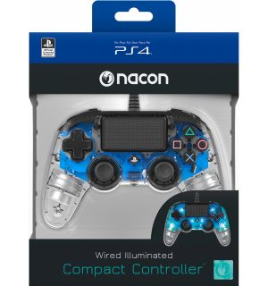 NACON WIRED COMPACT CONTROLLER (BLU LUMINOSO)