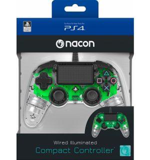 NACON WIRED COMPACT CONTROLLER (VERDE LUMINOSO)