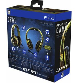 Cuffie Gaming Stereo Pro4-70 Camo (PS4)