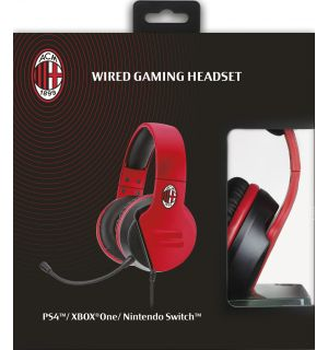 WIRED GAMING HEADSET AC MILAN (PS4, XB1, PC, MAC, MOBILE)