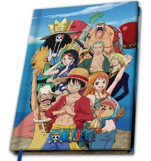 One Piece - Straw Hat Crew (Notebook, A5)