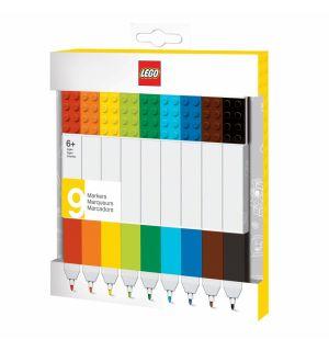 Lego - Evidenziatore (Colori Vari, 9 pz)