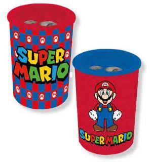Super Mario - Temperino (Metallo, 2 Fori)