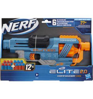 Nerf Elite 2.0 - Commander RD 6 (12 Dardi Inclusi)